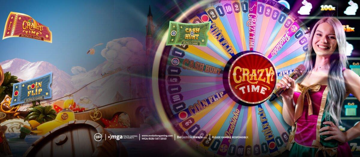 Το Crazy Time της Evolution Gaming