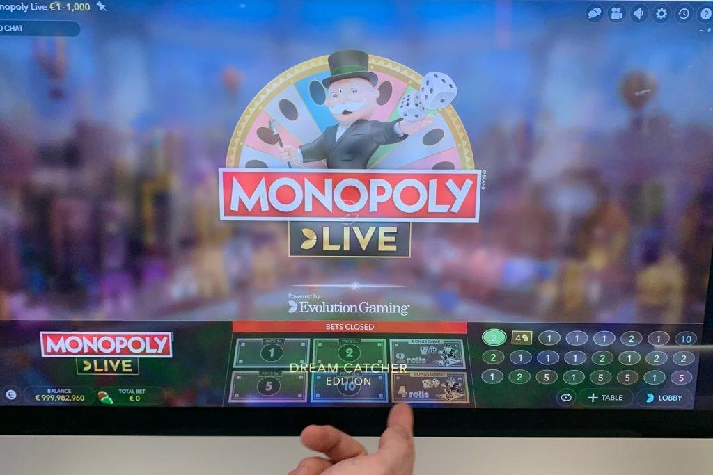 Monopoly ζωντανό καζίνο