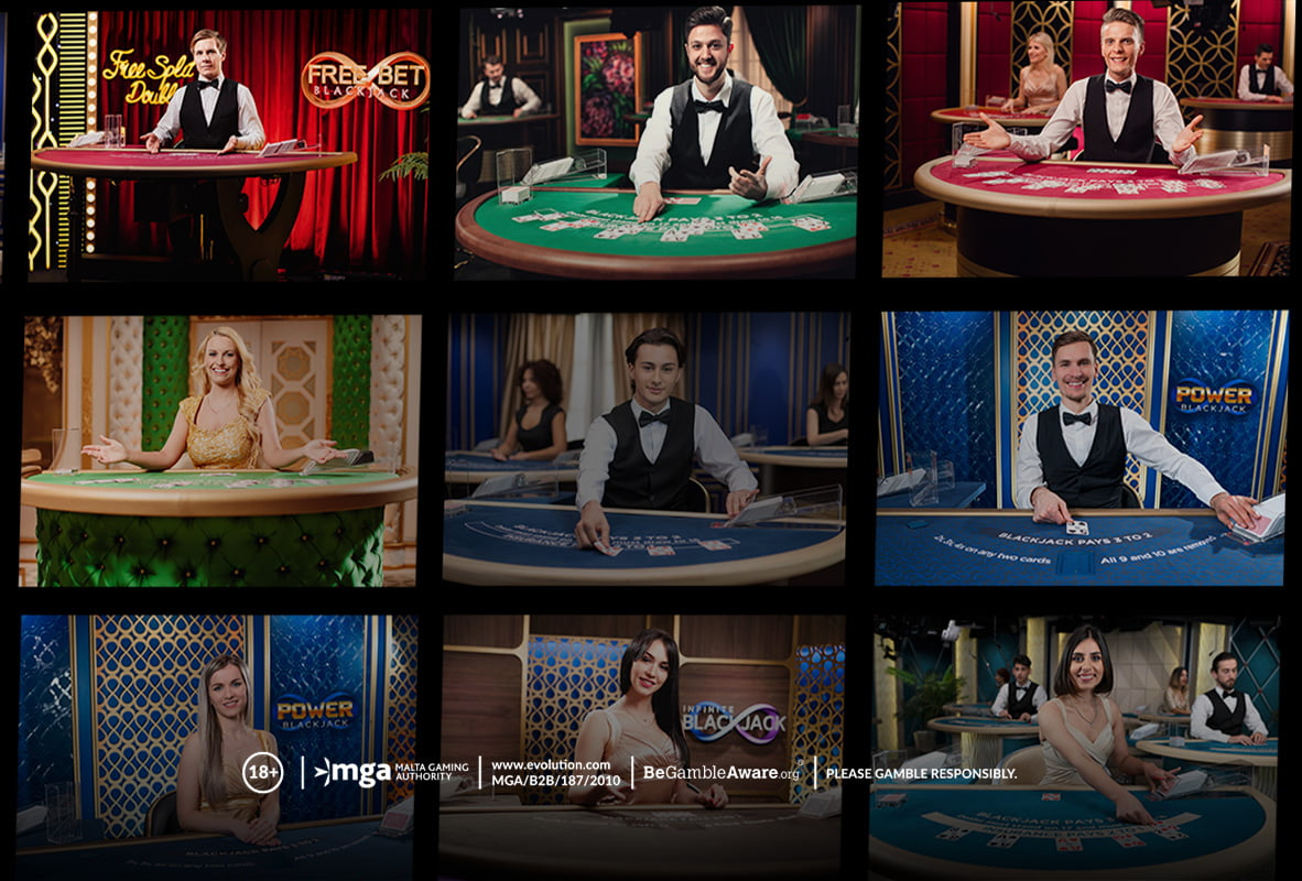 Παίζοντας Live Blackjack online